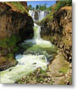 White River Falls D Metal Print