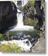 White River Falls Metal Print