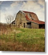 White River Trace Barn 2 Metal Print