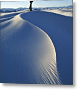 White Sands National Monument, Nm Usa Metal Print
