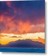 White Sands Panorama Metal Print