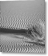 White Sands Ripples Metal Print