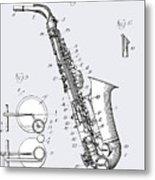 White Sax Metal Print