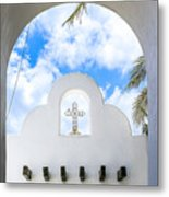 White The Color Of Innocence Metal Print