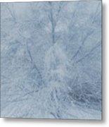 White Tree Metal Print