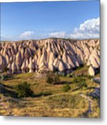 White Valley - Cappadocia Metal Print