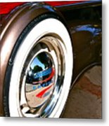 White Wall Metal Print