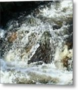 White Water Metal Print