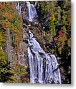 White Water Falls Metal Print