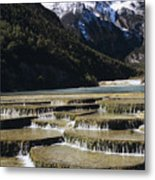 White Water River - Lijiang Metal Print