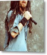 White Zombie 93-rob-0350 Metal Print