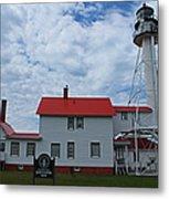 Whitefish Point Lighthouse I Metal Print