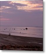 Whitehorse Beach - Sunset Metal Print