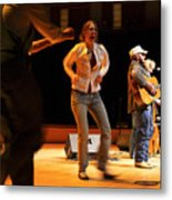 Whitetop Mountain Band In Concert Metal Print