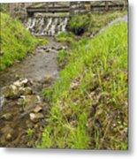 Whitewater Bridge And Dam Scene 13 Metal Print