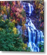 Whitewater Falls Metal Print