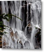 Whitewater Falls Lower Falls 001 Metal Print