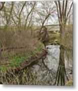 Whitewater River Spring 41 A Metal Print