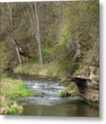 Whitewater River Spring 45 A Metal Print