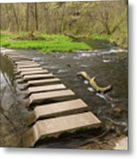 Whitewater River Spring 52 Metal Print