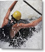 Whitewater Stretch Metal Print