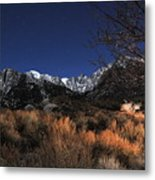 Whitney Campground View Metal Print