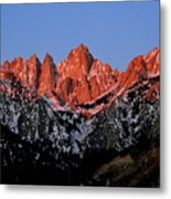 Whitney Sunrise Metal Print