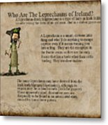 Who Are The Leprechyauns Of Ireland Metal Print