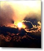 Who Has Kissed The Sun Metal Print