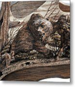 Who Is Master Of The Forest Metal Print