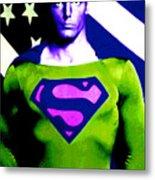 Who Is Superman Metal Print