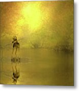 A Silent Autumn Morning Metal Print