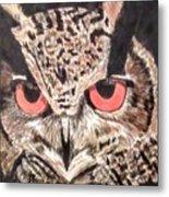 Whoot Owl Metal Print