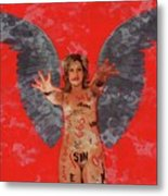 Whore Of Babylon By Mb Metal Print