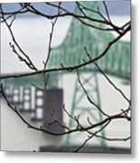 Who's The Architect? Metal Print