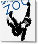 Who's Who In The Zoo - Wpa Metal Print
