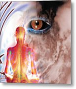 Whose I Is Eckharts Eye Metal Print