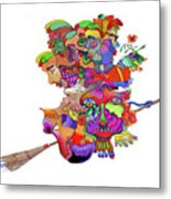 Martin-hardy-witches Metal Print