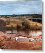 Wichita Falls View Metal Print