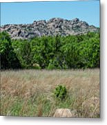 Wichita Mountains Wildlife Refuge - Oklahoma Metal Print