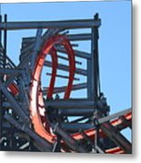 Wicked Cyclone Stall Metal Print