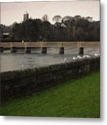 Wicklow Footbridge Metal Print