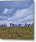 Wide Brown Land - Canberra - Australia Metal Print