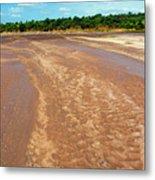 Wide Thwake River Metal Print