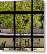 Wiew Out The Window Metal Print