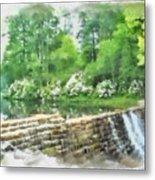 Wigwam Falls Metal Print