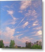 Wild And Crazy Sky Metal Print