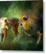 Wild Attraction Metal Print