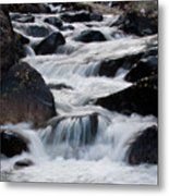Wild Basin White Water Metal Print by Brent Parks