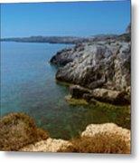 Wild Coast Cyprus Metal Print